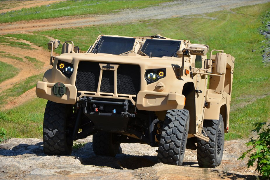 First JLTVs to be delivered to the US Army in January 2019