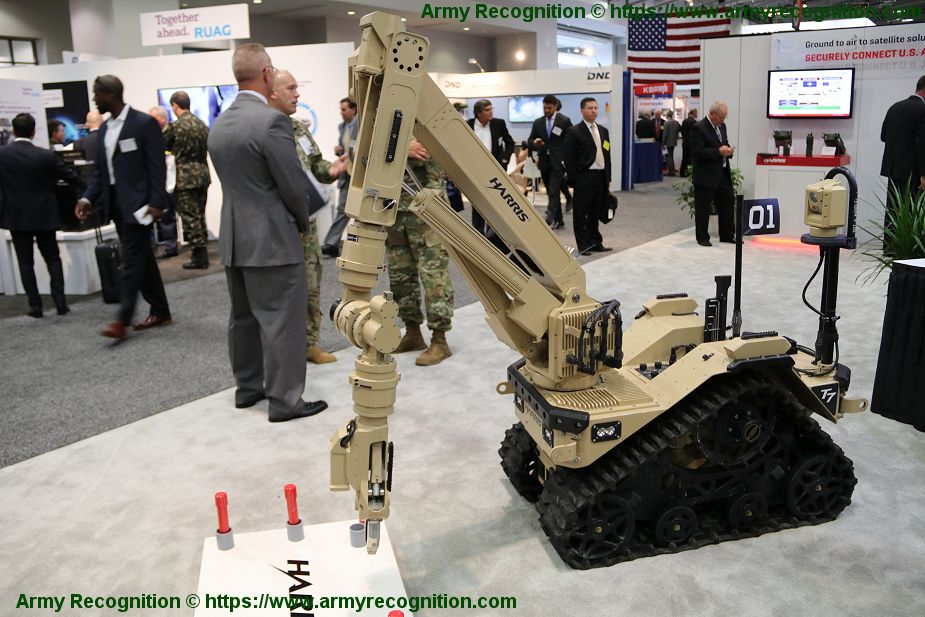 Harris Corporation T7 UGV Unmanned Ground Vehicle for British Army 925 001
