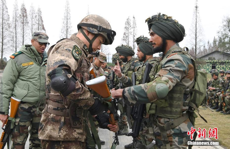 Indian Chinese Hand in Hand 2018 counter terrorism training