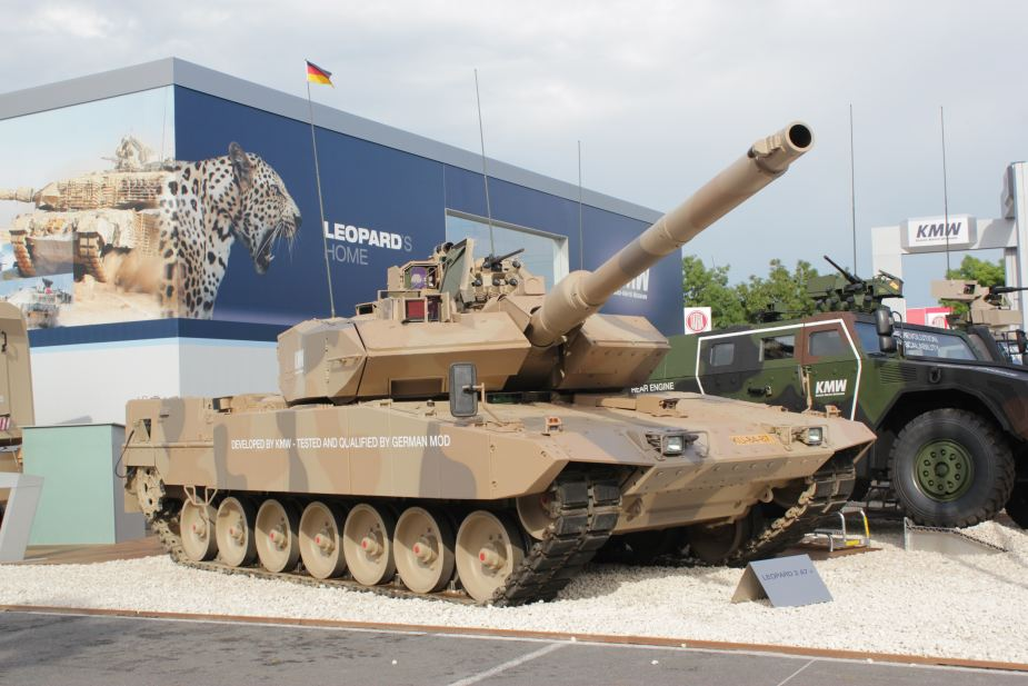 KMW to deliver Leopard 2A7 and Leopard 2A4 MBTs PzH2000 to Hungary