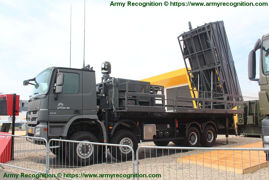 Philippines has selected Israeli SPYDER as new air defense missile system 925 001