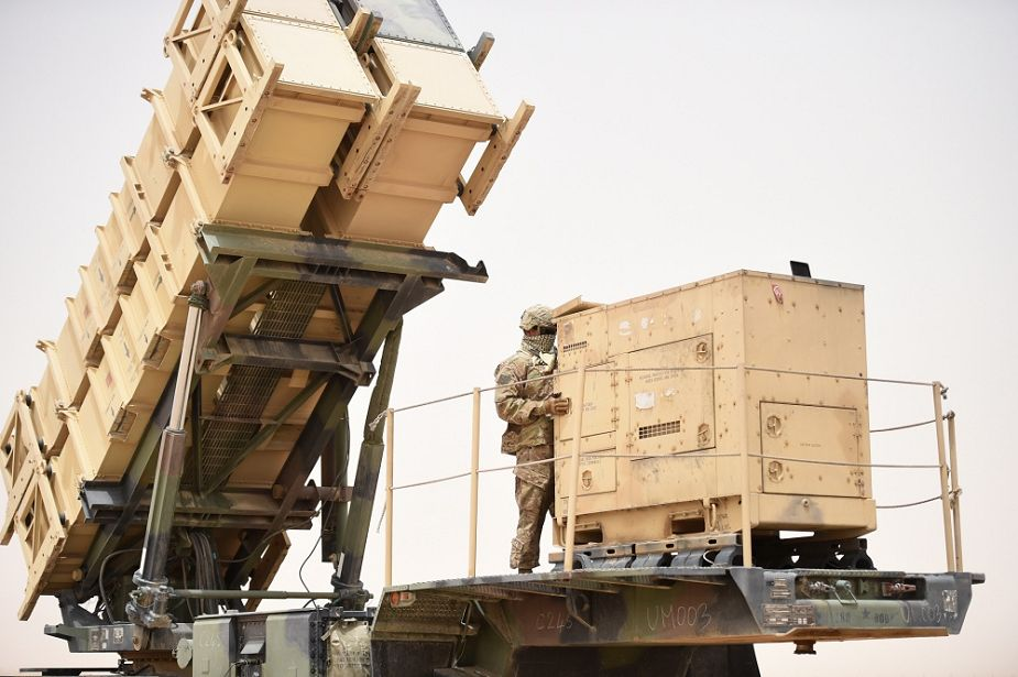 Raytheon from US to produce Patriot missile systems for Sweden 925 001