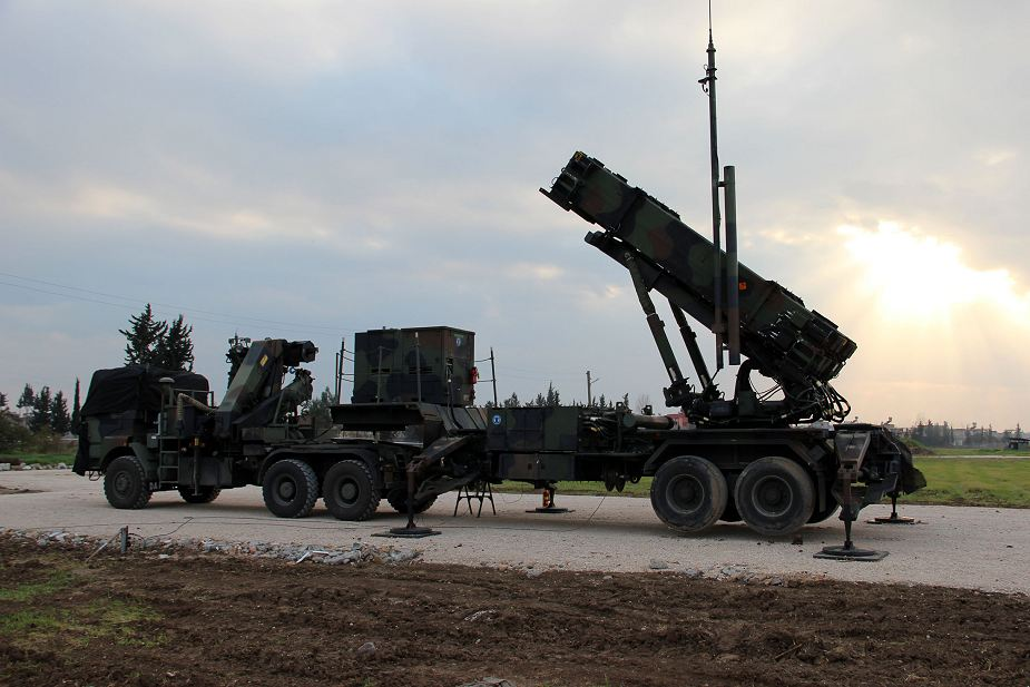 US approves sale of Patriot air defense missile systems to Turkey 925 001
