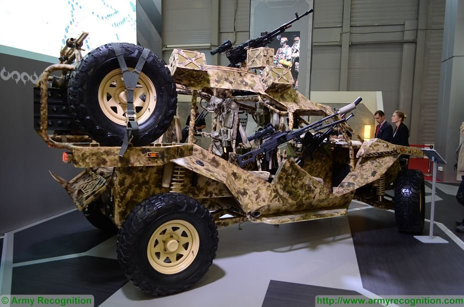 Russia Chaborz 6 tactical buggy rolled out in Grozny