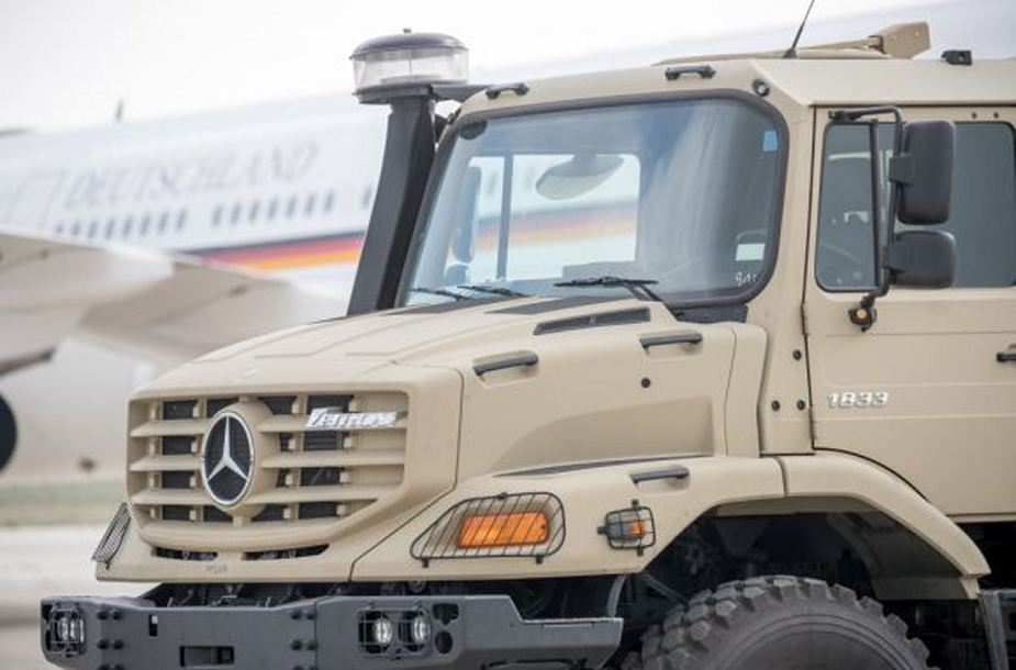 Germany has delivered security equipment to Jordan armed forces 925 001