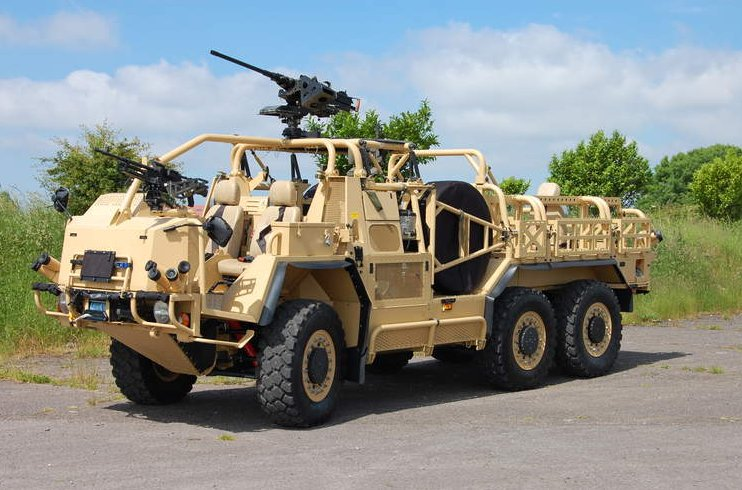 New Zealand to receive Supacat Special Operations Vehicles 925 001