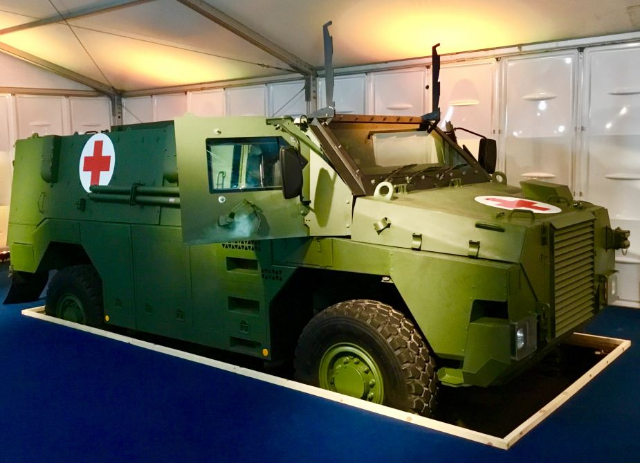Thales launches new protected vehicle Bushmaster Multi Role 6 MR6 925 001