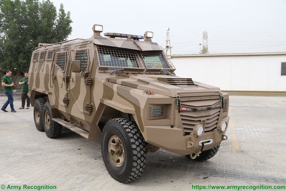 New Titan S 6x6 APC from Inkas Vehicles from United Arab Emirates 925 001