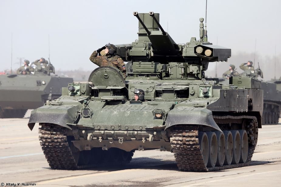 Russian BMPT tank support fighting vehicles to receive 30mm shells with controlled airburst