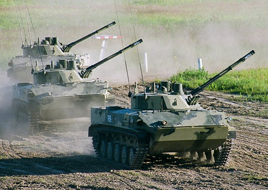 Russian airborne tank units participate for the first time in Slavic Brotherhood exercise