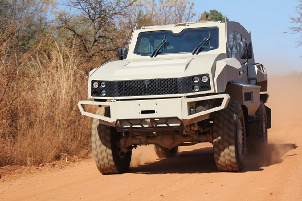 New version of the South African SVI Max armoured vehicle