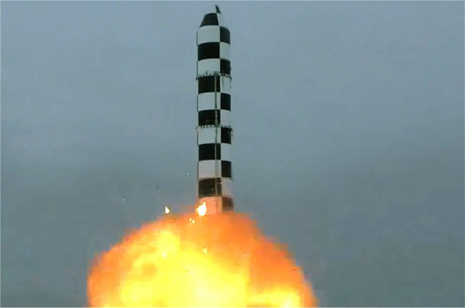 Russia successfully test fires RS 28 Sarmat ICBM Inte Continental Ballistic Missile 925 001