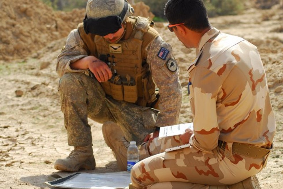U S Australian and New Zealand forces strengthen coalition forces in Iraq