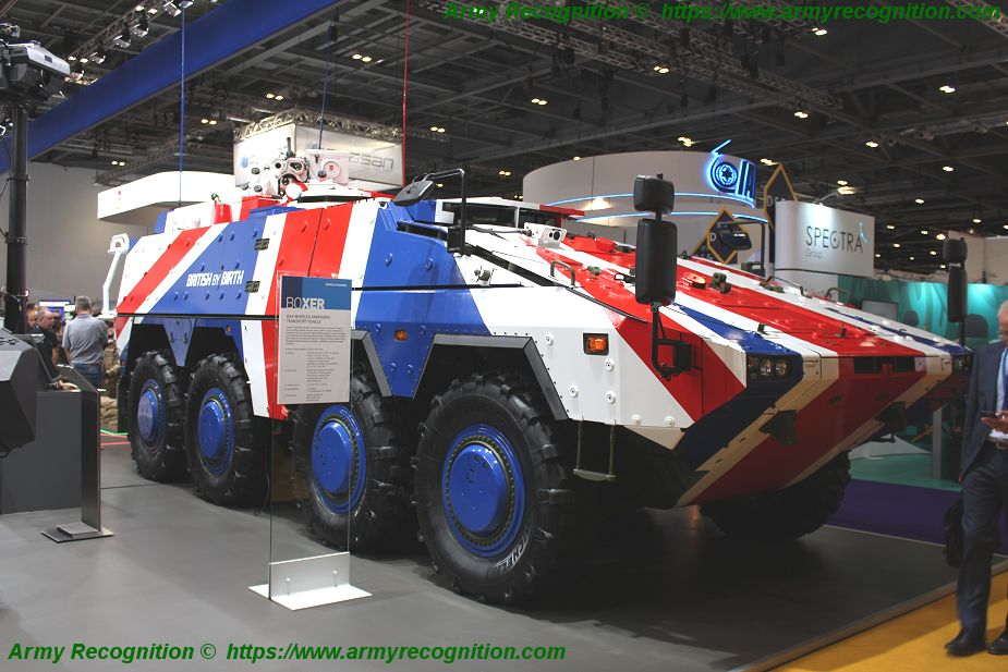 United Kingdom British army is rejoining the Boxer 8x8 armored program 925 001