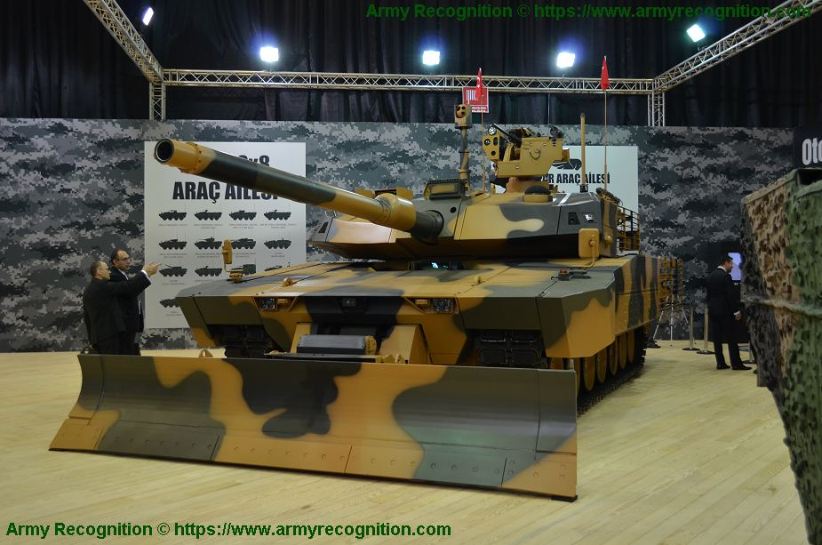 Altay T3 version MBT Main Battle Tank will be fitted with unmanned turret 925 001