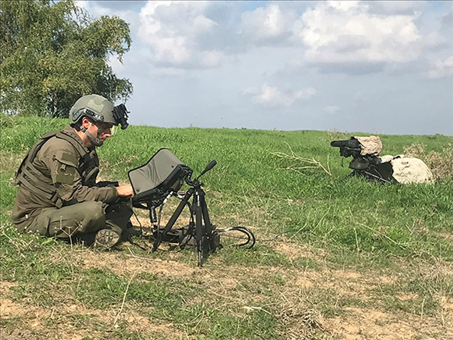Elbit Systems launches HattoriX a man packed fire support system