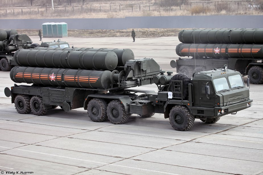 Russia announces new S 400 surface to air missiles deployment in Crimea