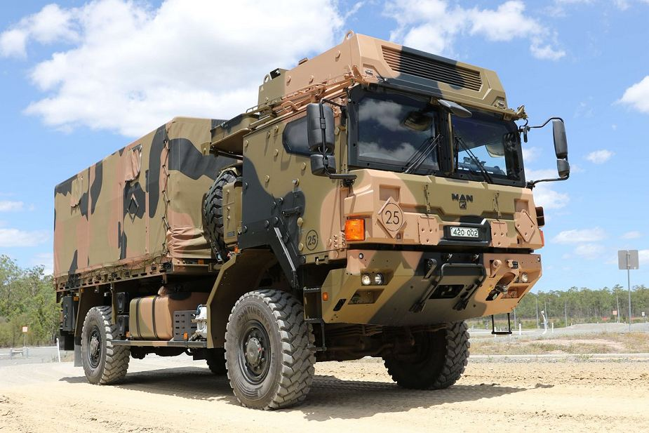 Rheinmetall MAN from Germany military truck for Australia 925 001