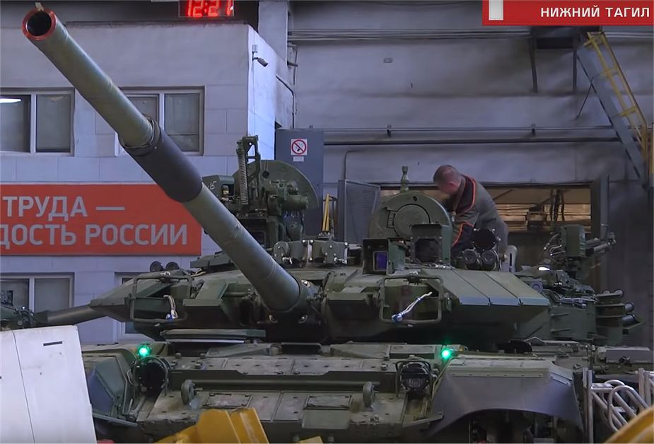 Russia has started the production of T 90S main battle tanks for Vietnam 925 001