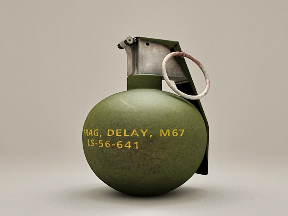 US Army purchases M67 fragmentation hand grenades