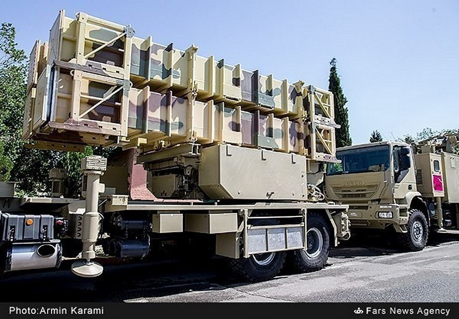 Iran to display Bavar 373 air defense missile system