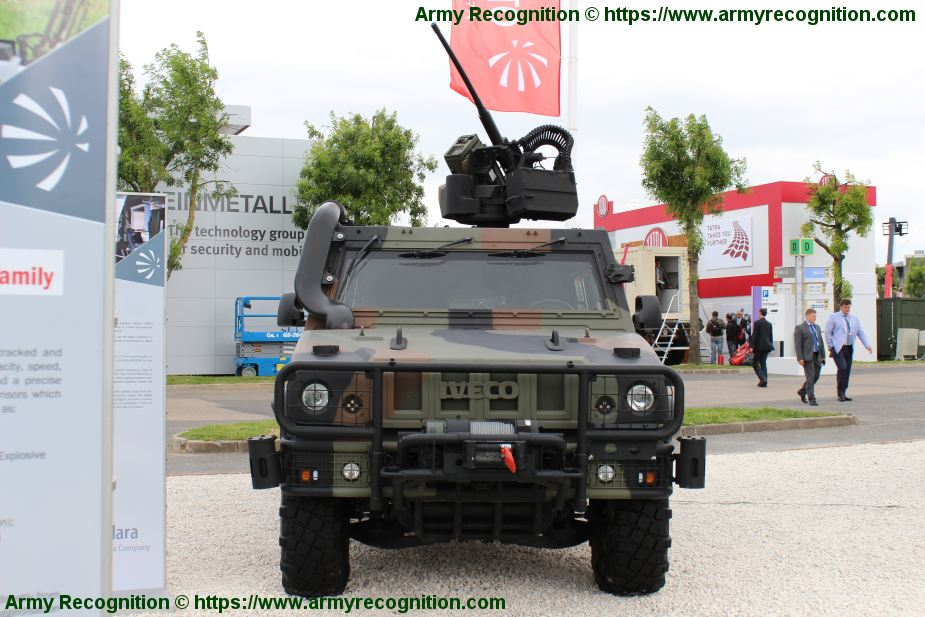 Italian Company IVECO will deliver 1275 LMV Light Multirole Vehicles to Netherlands 925 001