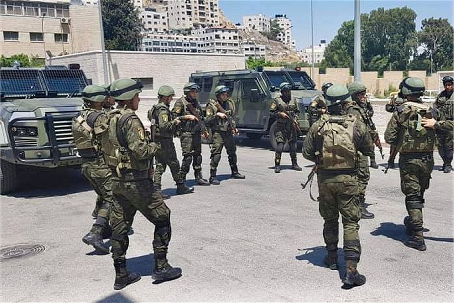 Jordan has delivered A Jawad 4x4 armored vehicles to Palestinian Security Forces 925 001