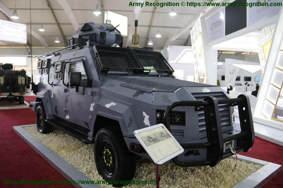 Jordan has delivered A Jawad 4x4 armored vehicles to Palestinian Security Forces 925 002