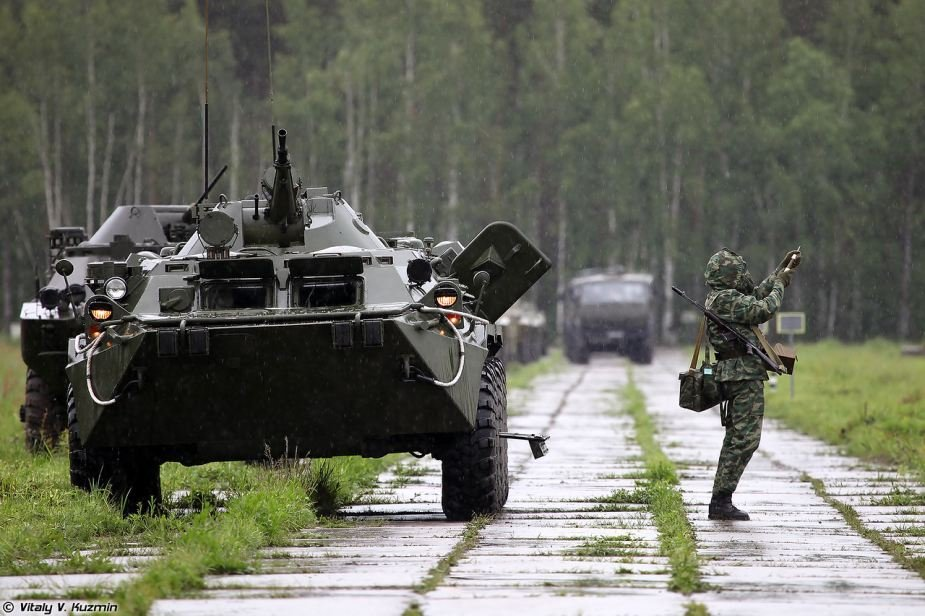 Military chemists participate in full scale exercises in eastern Russia