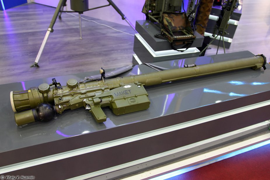 Russia equips Verba manpad aid defense weapons with Augmented Reality elements
