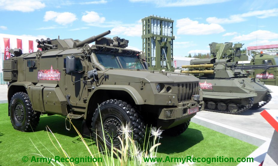 Russian Paratroopers To Receive New Taifun-VDV K-4386