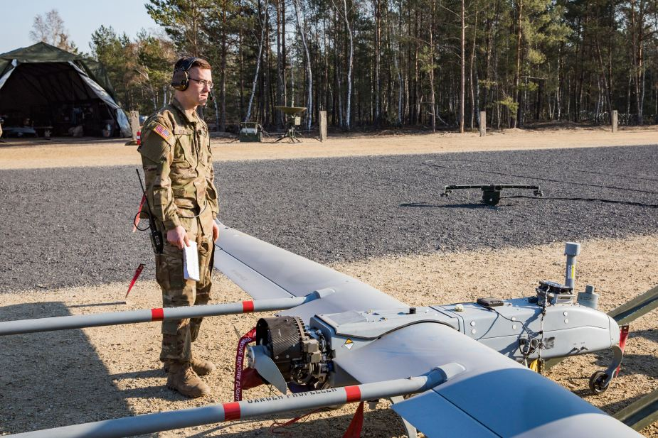 U.S. soldiers to train with RQ 7 Shadow UAS in Poland 925 001