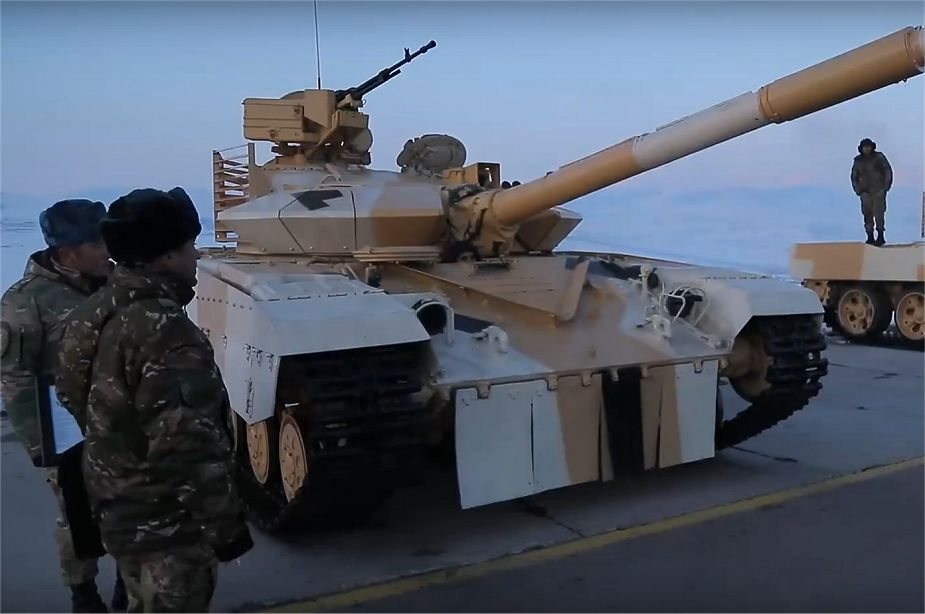Army of Uzbekistan has upgraded T 64B and T 62 main battle tanks 925 001