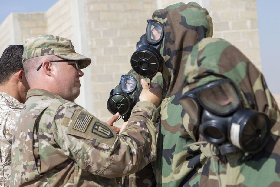CBRN military exercise in Jordan for US Army and Jordanian armed forces 925 001