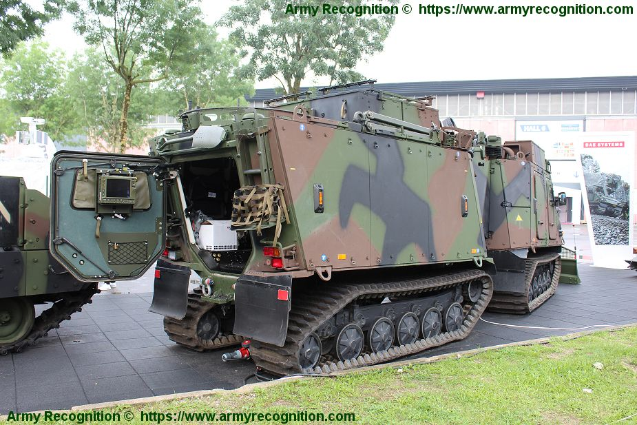 BAE Systems has delivered first four Bvs10 all terrain vehicles to Austria 925 002