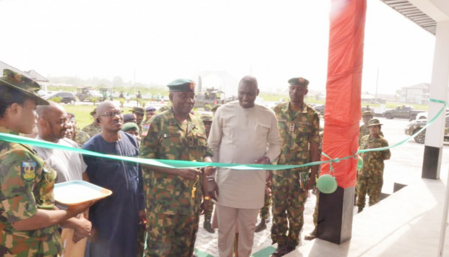 Nigerian army Inaugurates ICT Centre in Port Harcourt