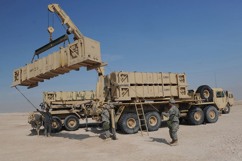 Raytheon contract to deliver Patriot missiles to UAE IDEX 2019 defense exhibition Abu Dhabi UAE 925 001
