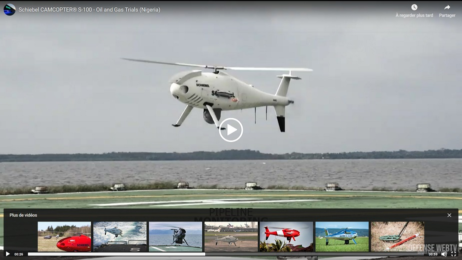Successful flight trials in Nigeria for Schiebel Camcopter S 100 VIDEO LINK