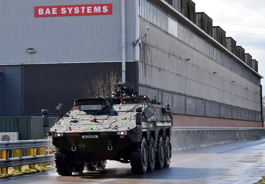 BAE hands control of United Kingdom armoured vehicles unit to German rival