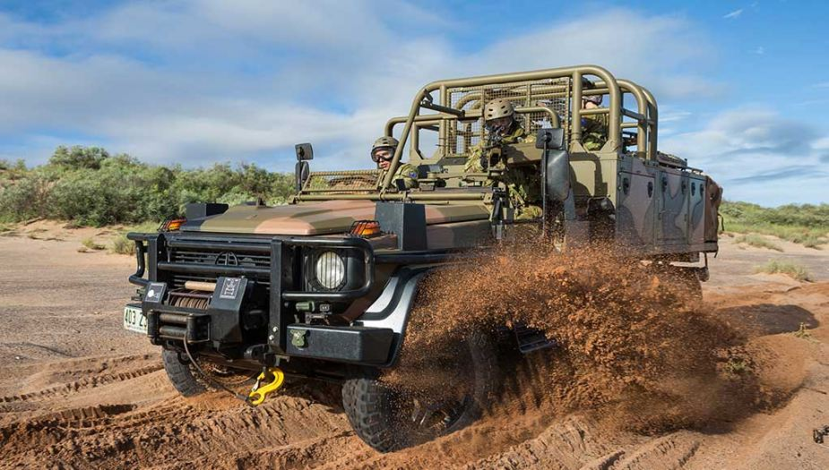 plasan hyrax new generation armored all terrain vehicle 1