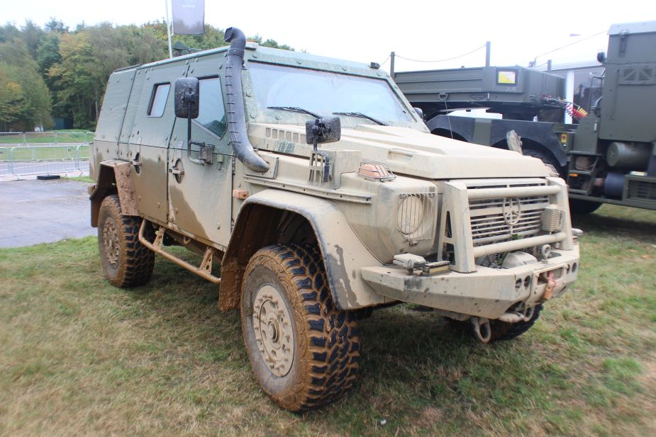 plasan hyrax new generation armored all terrain vehicle 2