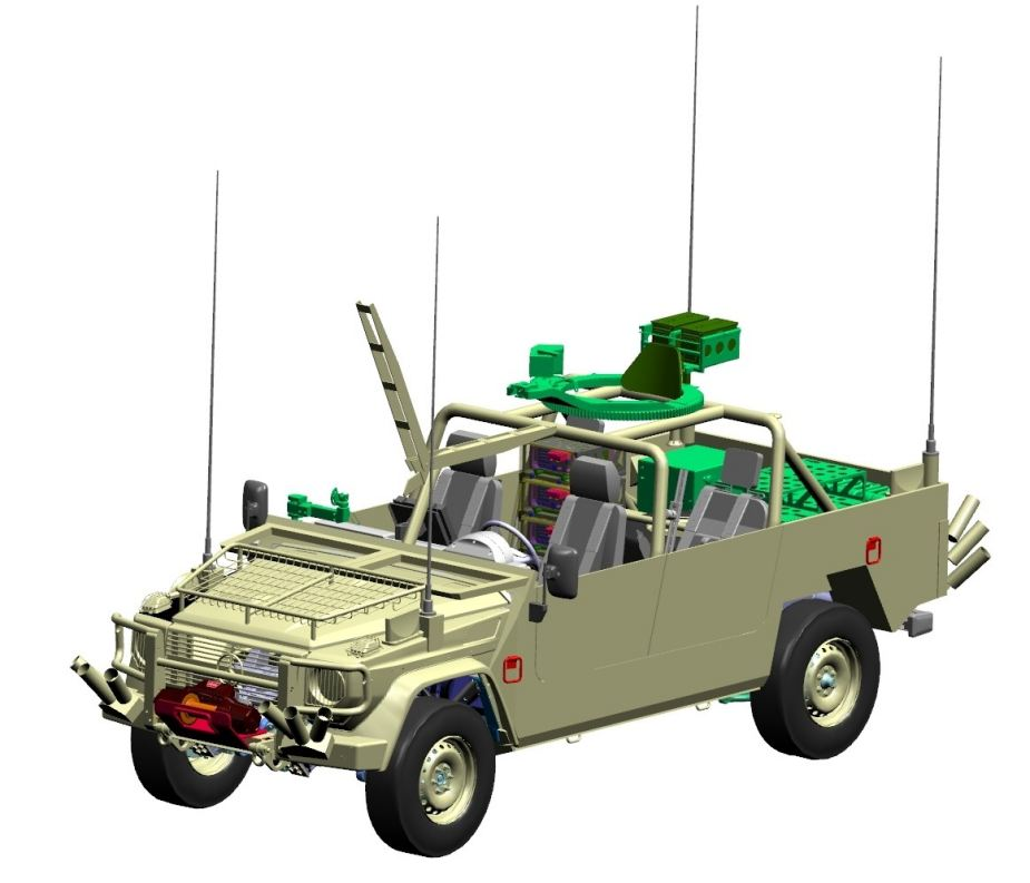 plasan hyrax new generation armored all terrain vehicle 5