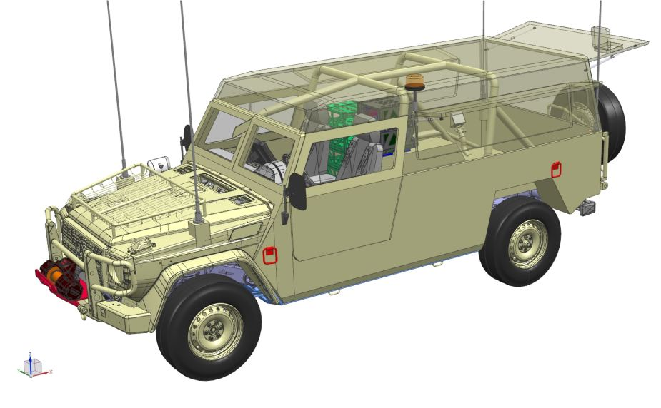 plasan hyrax new generation armored all terrain vehicle 6