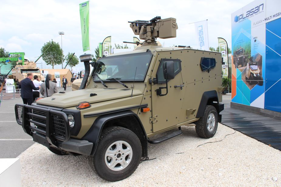 plasan hyrax new generation armored all terrain vehicle 7