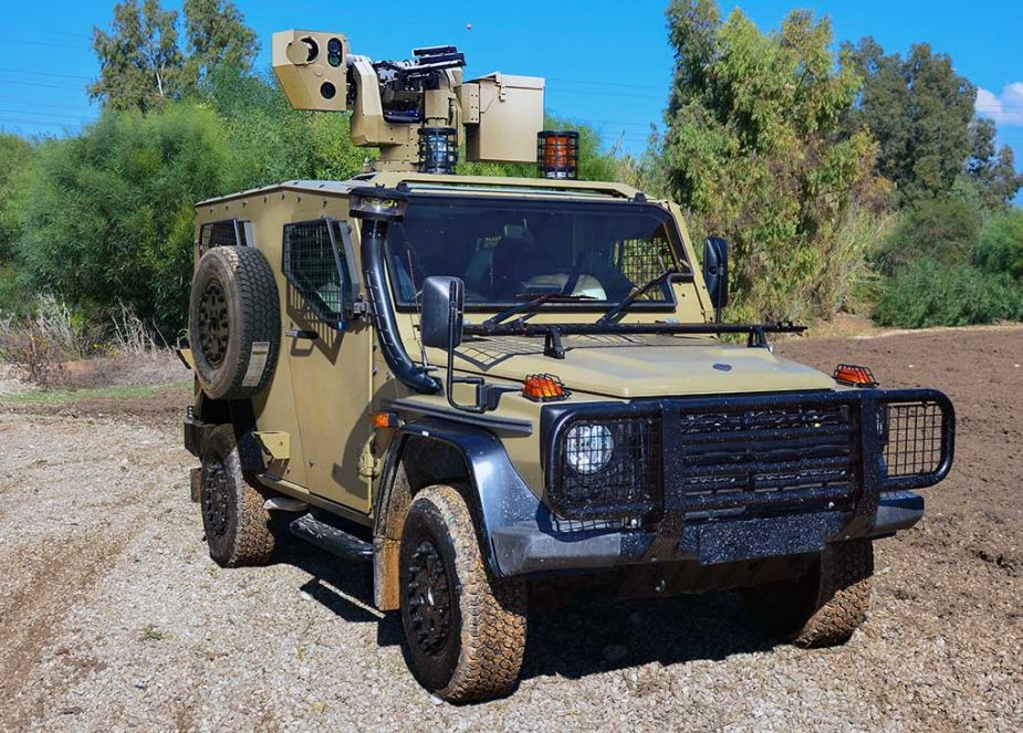 plasan hyrax new generation armored all terrain vehicle 9