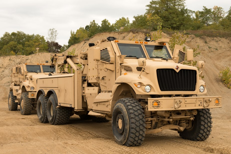 Navistar Defense awarded U.S. Army cotract for heavy wreckers and trucks