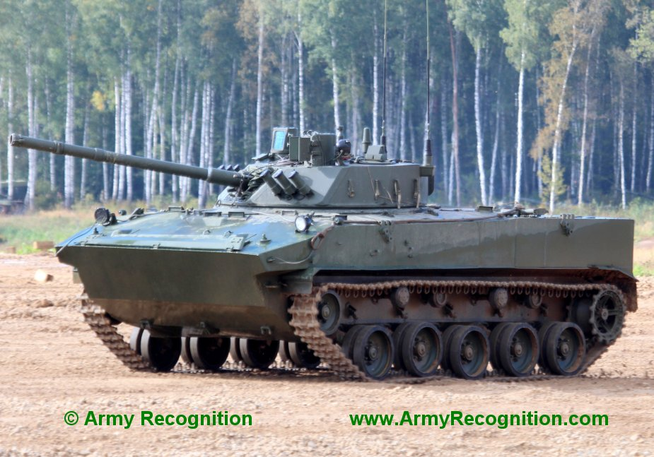 Russian MoD receives forty two BMD 4M AIFVs from Kurganmashzavod plant