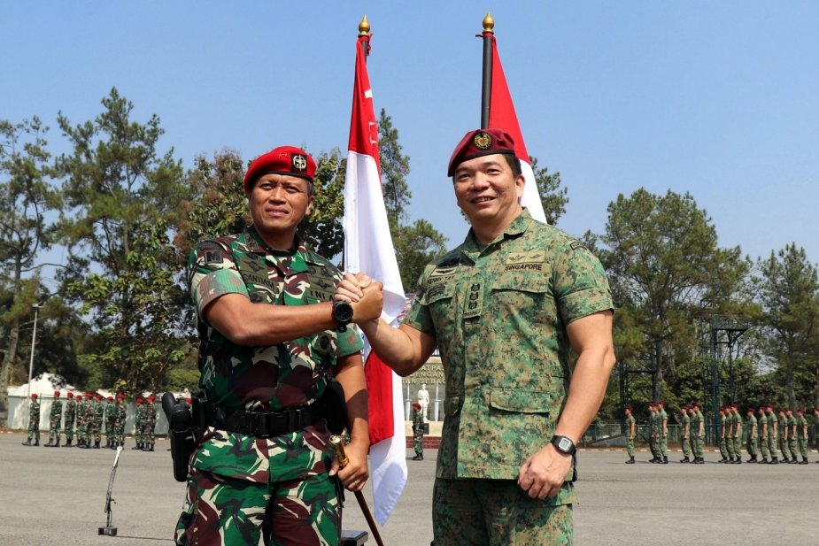 Singapore and Indonesian commandos conclude exercise Chandrapura