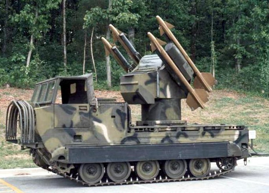 U.S. to sell M48A3 Chaparral air defense systems modifications to Egypt