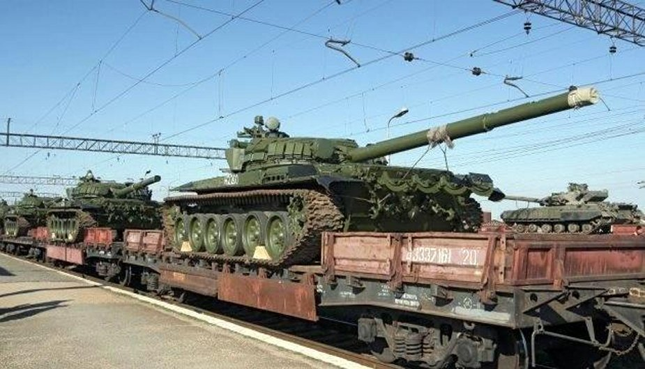 Ukraine Russia brings over 600 tonnes of ammunition to separatists